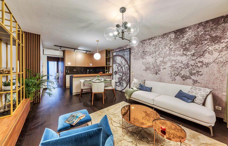 Nechajte sa ovanúť luxusom a nazrite s nami do elegantného bytu v centre hlavného mesta