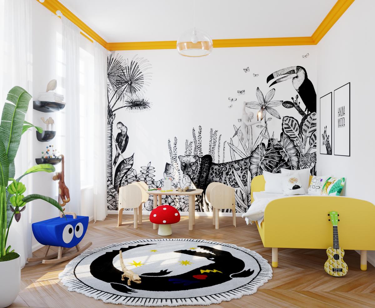 detská izba, farby