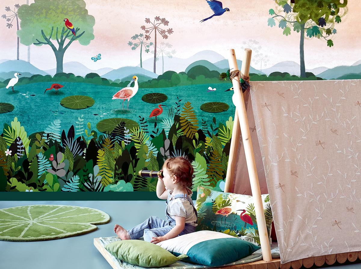 farby v detskej izbe, detská izba