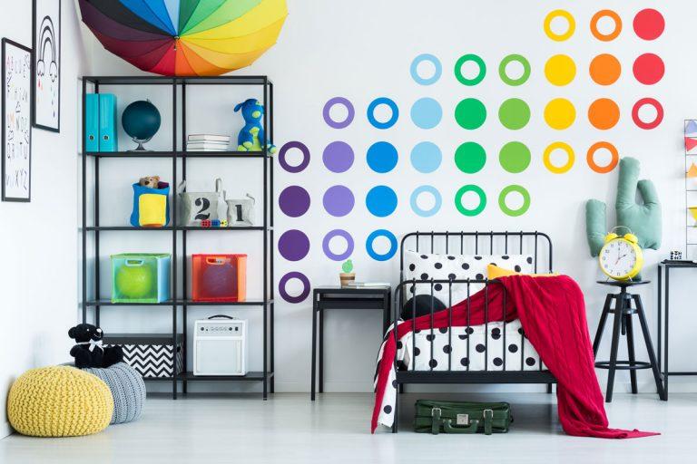 Vyberáte farby do detskej izby? Zapojte aj deti