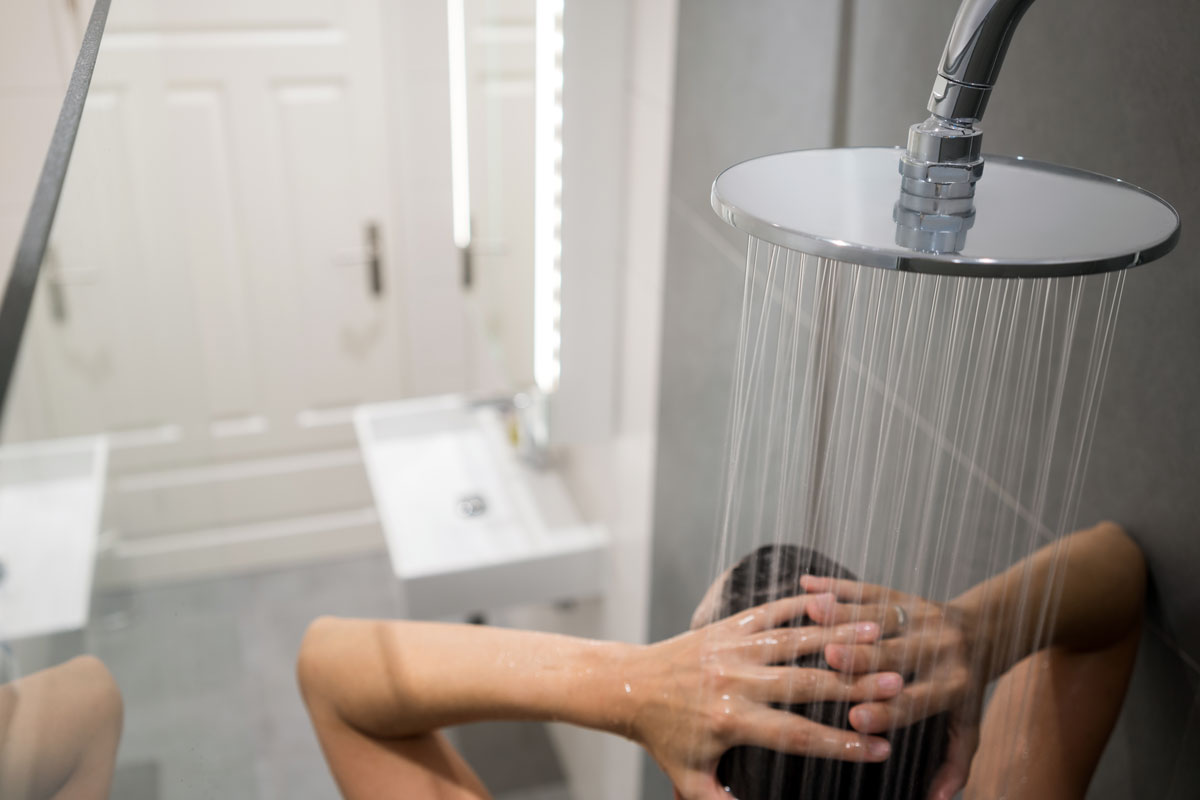 sprchovanie