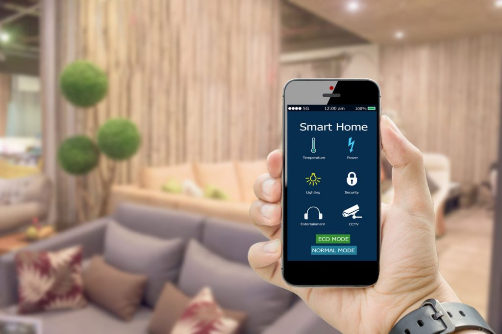 zabezpečenie inteligentnej domácnosti