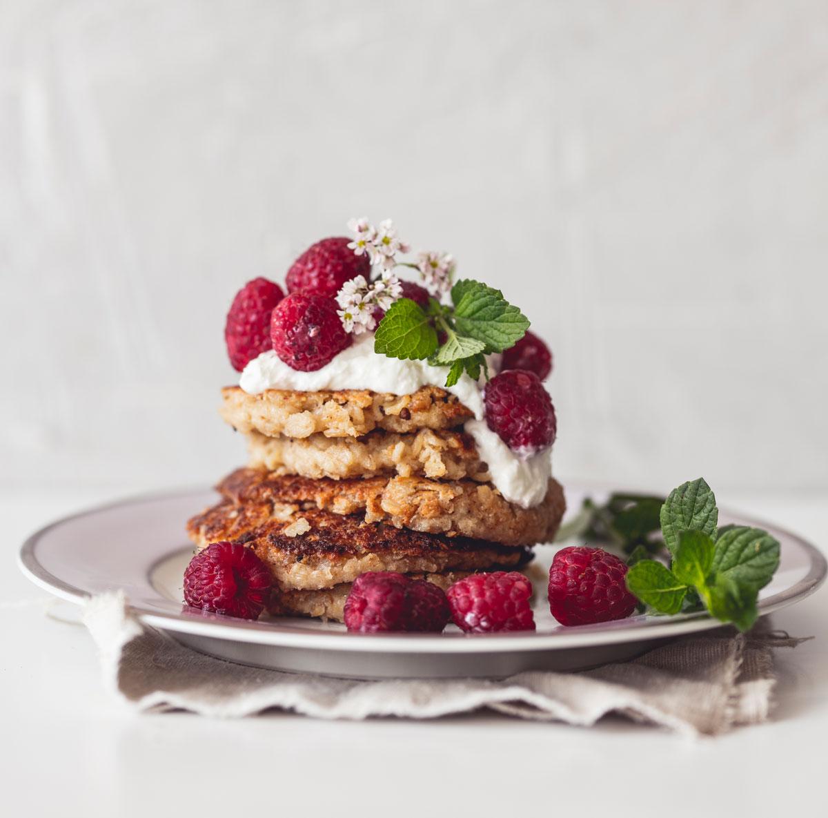 vegánske recepty, lievance