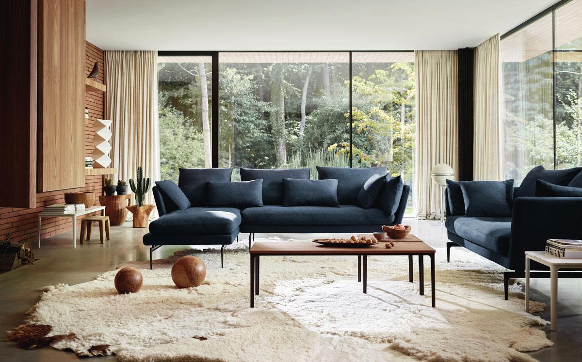 trendy v obývačke, minimalizmus