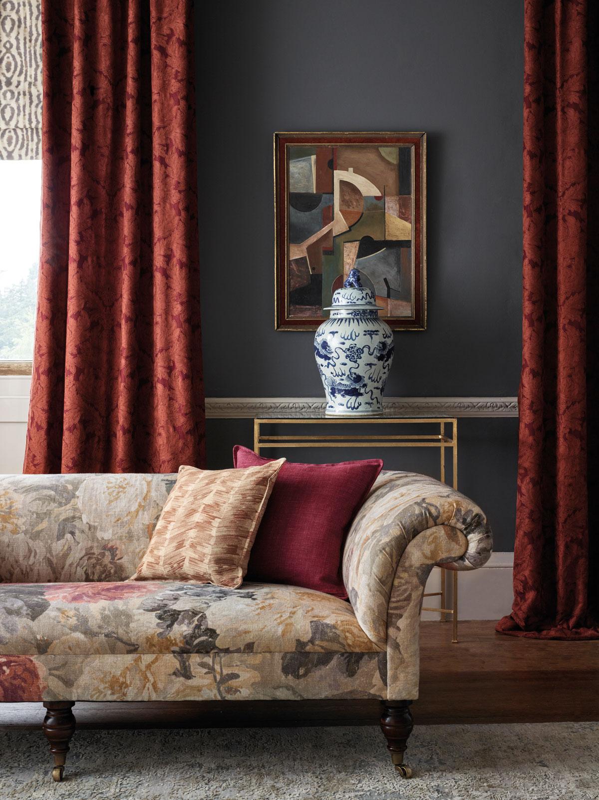 trendy v obývačke, klasický štýl