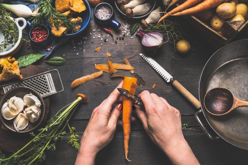 vegánske recepty, vegánska polievka