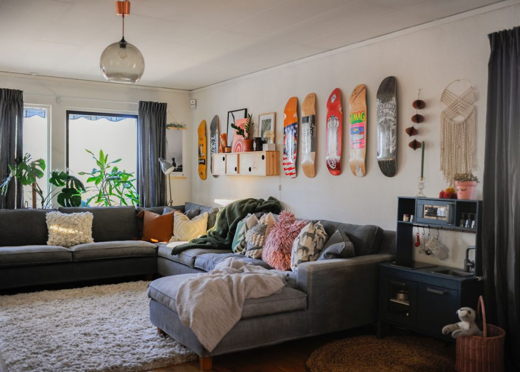 eklektický štýl v interiéri