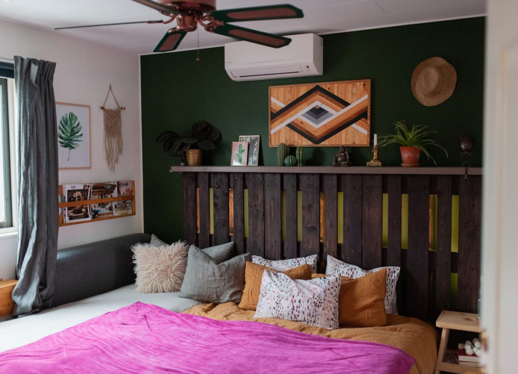posteľ z paliet