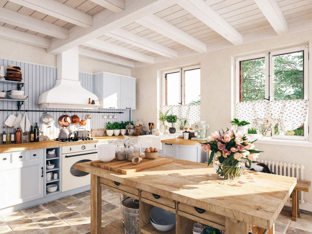 vidiecka kuchyňa