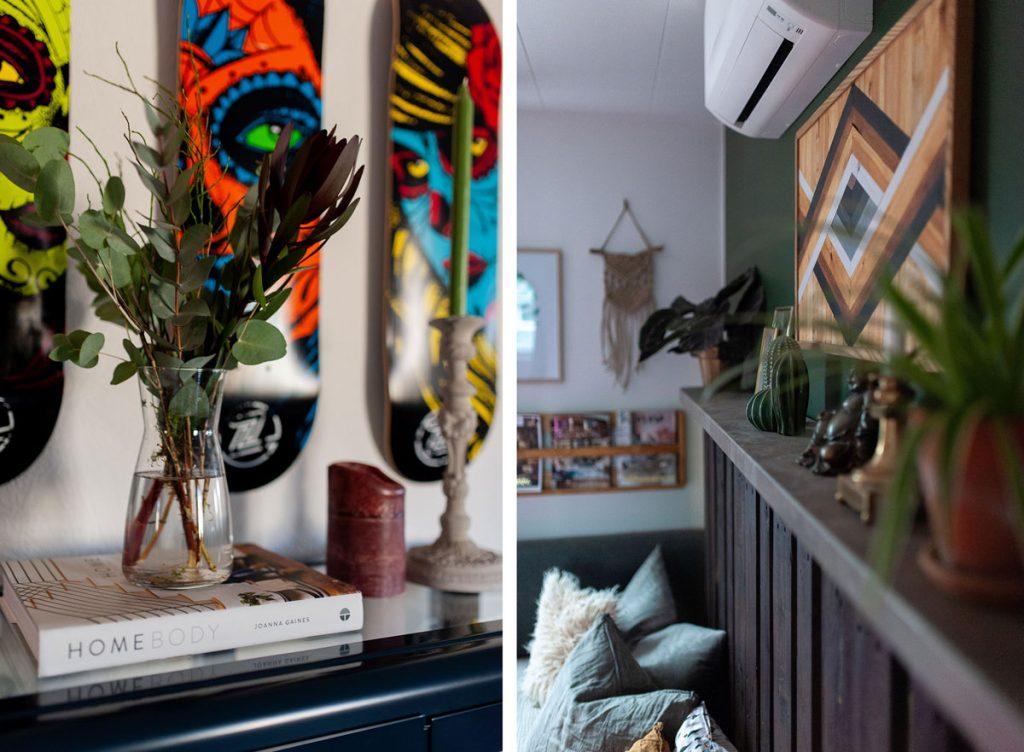 dekorácie v interiéri