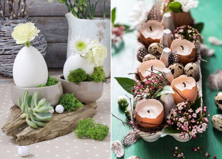 Oslávte sviatky jari hravou a sviežou výzdobou. Tu sú naše tipy!