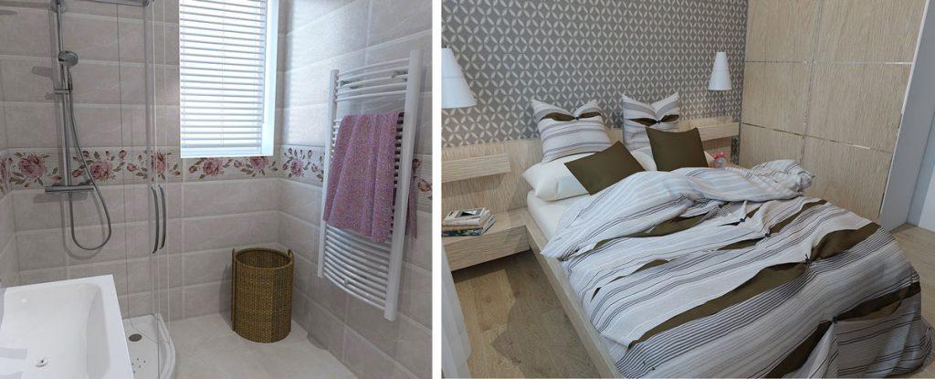 dizajnérske riešenie malého bytu