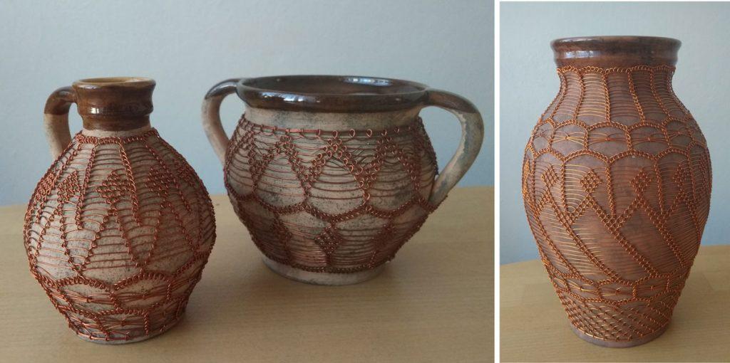 opletaná keramika