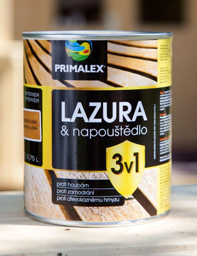 lazúra a napúšťadlo Primalex