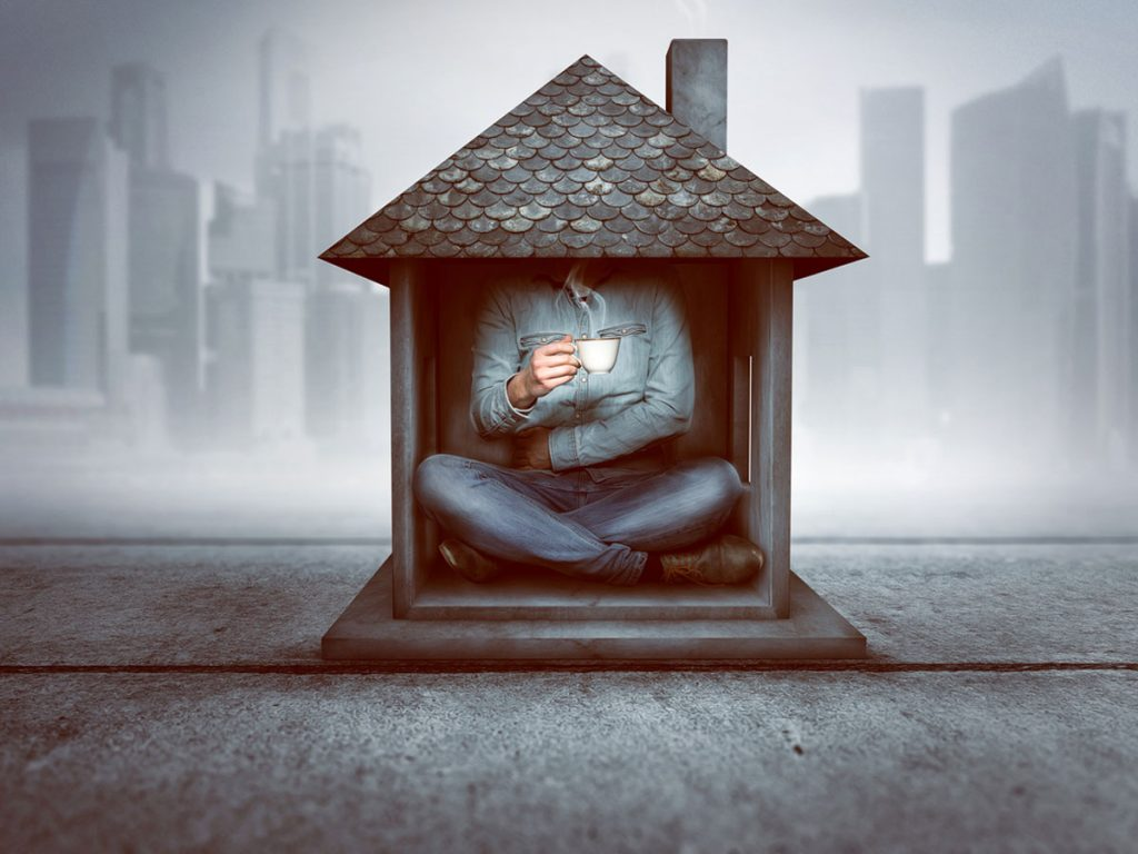Zariaďujeme malý byt: Tajná izba za zrkadlom