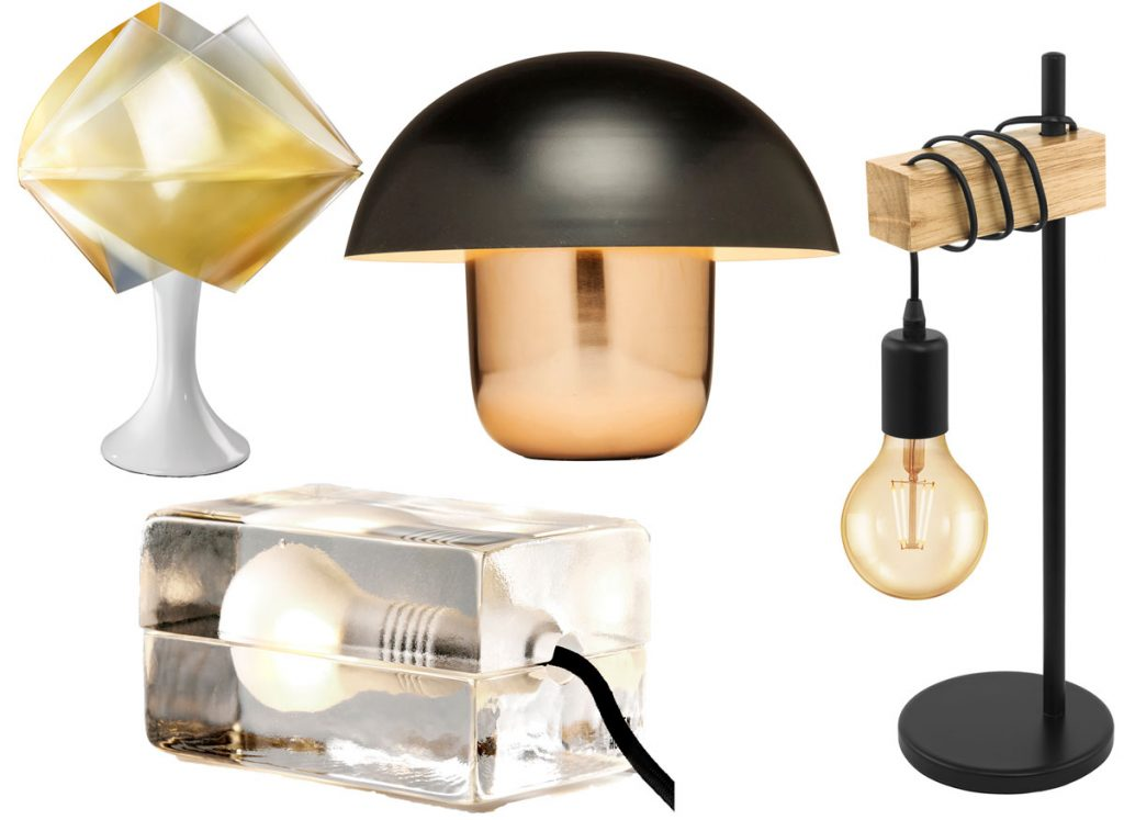 svietidlá do interiéru, stolové lampy, stojacie lampy