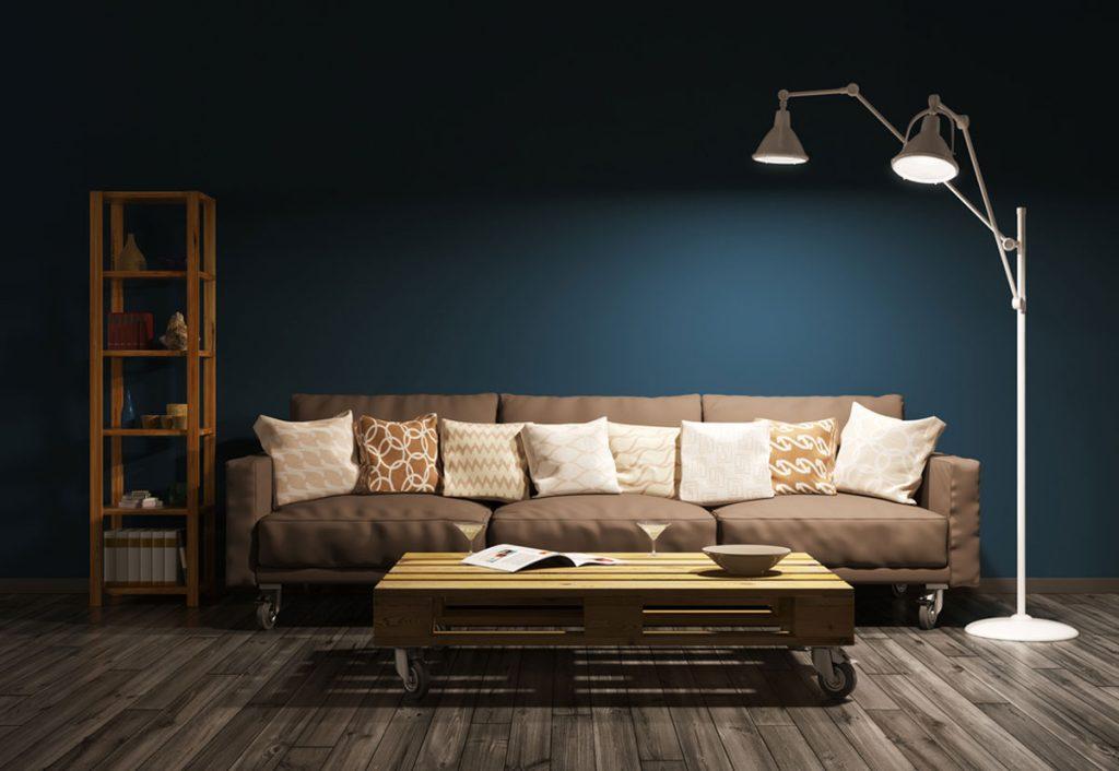 Vyberáme osvetlenie: Obývačka a kúpeľňa