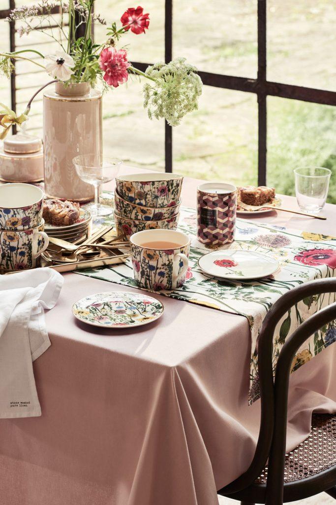 kvetinové stolovanie