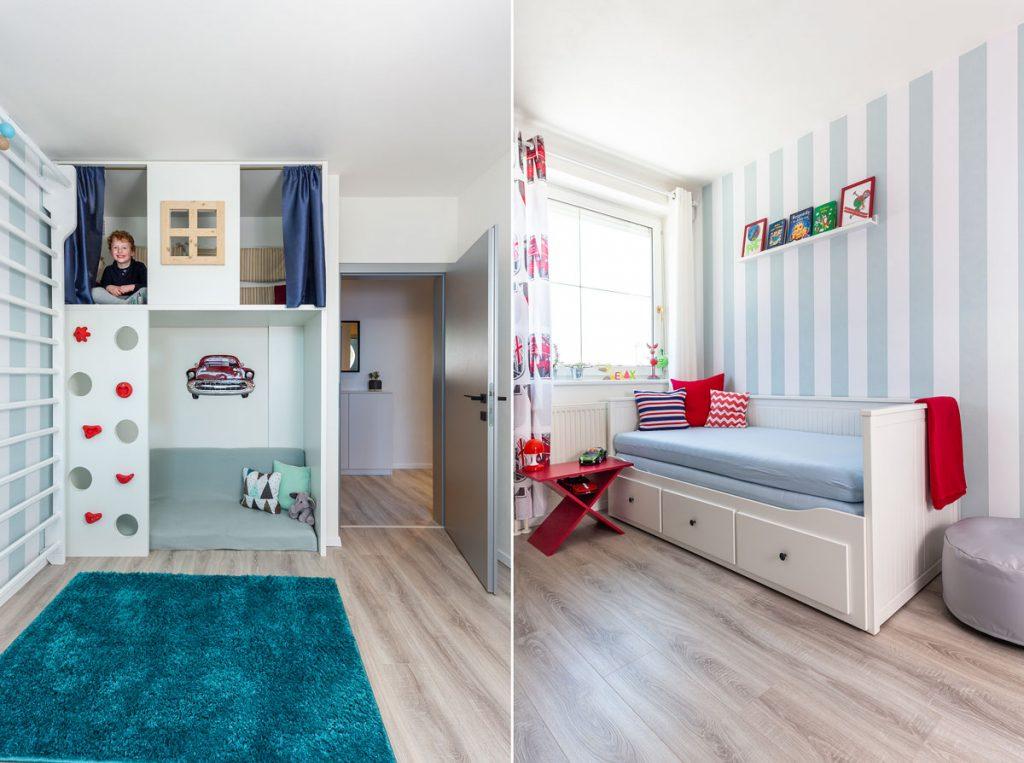 detská izba s bunkrom