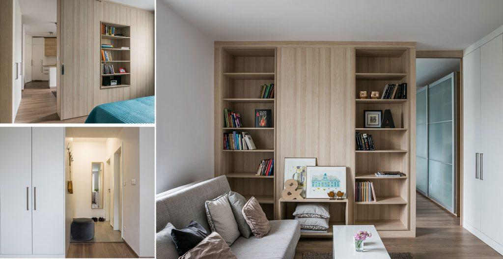 deliace prvky v interiéri