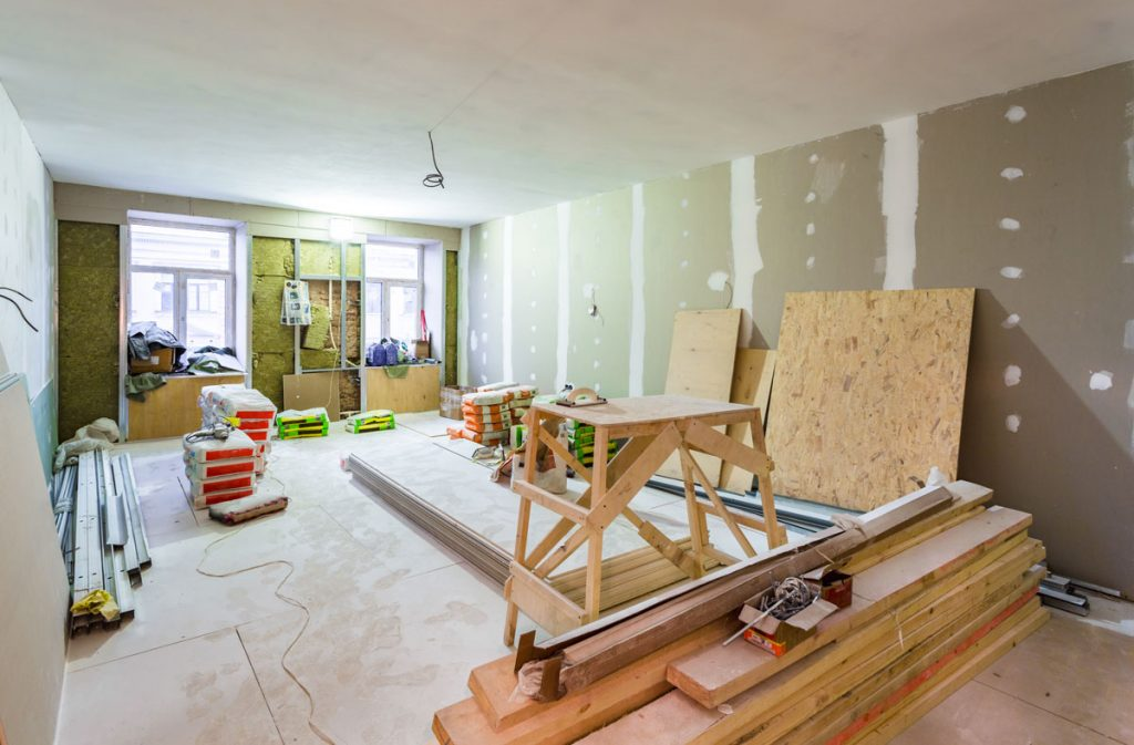 rekonštrukcia miestnosti