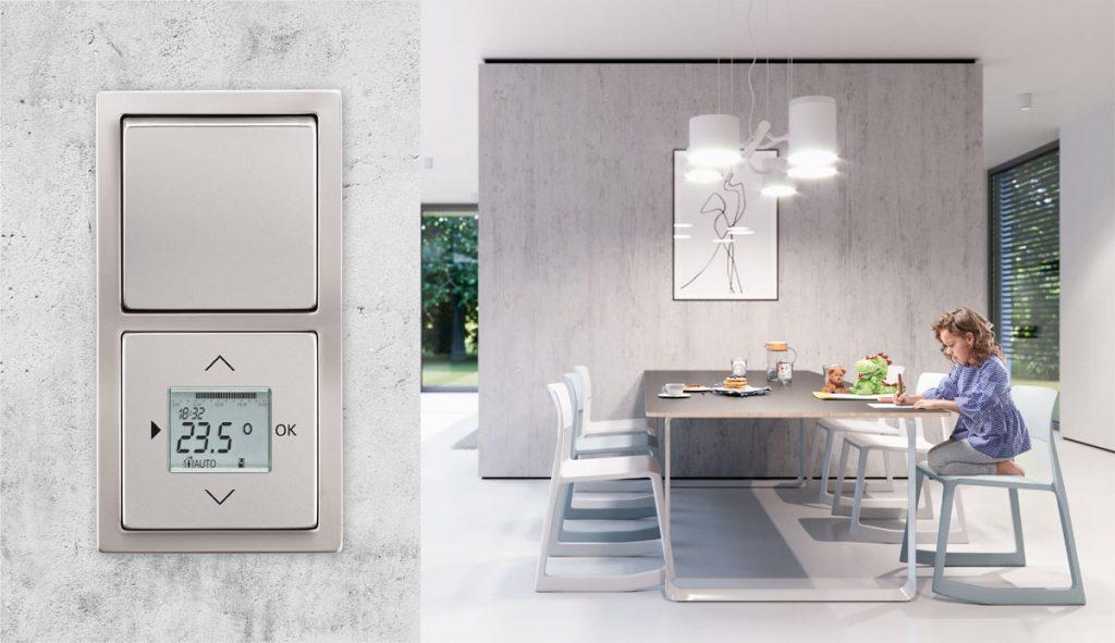 ovládač osvetlenia v kuchyni cez Smart home systém