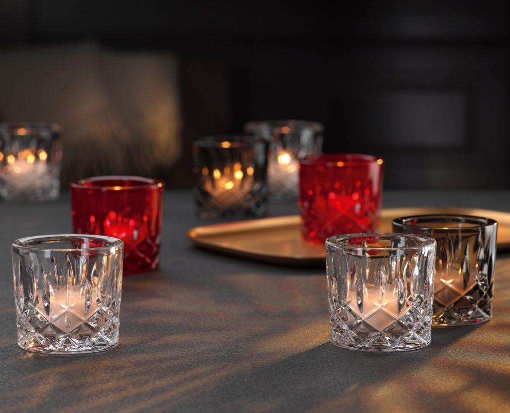 Nachtmann - krištáľový svietnik na čajovú sviečku - Noblesse