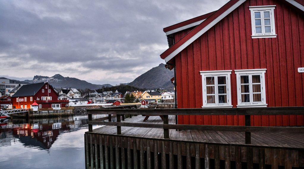 severský drevený dom