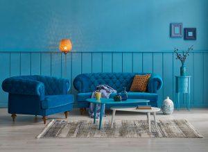 S nesmrteľnou modrou navodíte doma pokojnú atmosféru