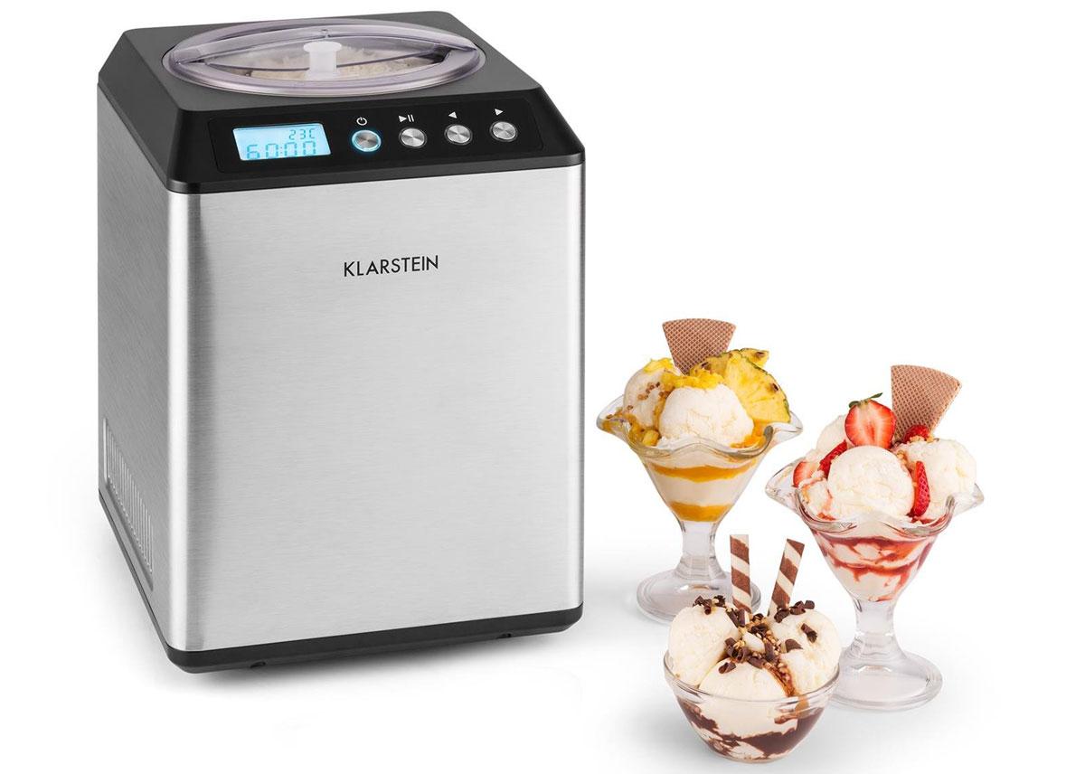 strieborný zmrzlinovač