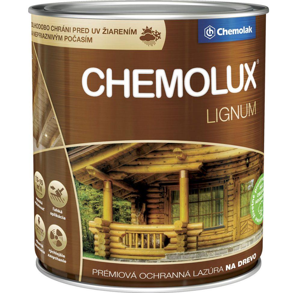 lazúra Chemolux Lignum