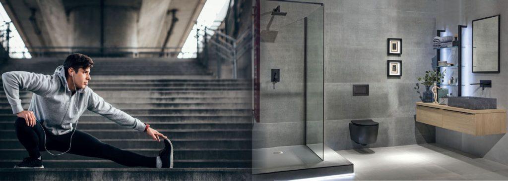 Siko minimalistická kúpeľňa