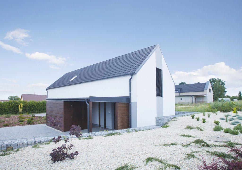 tehlový pasívny rodinný dom