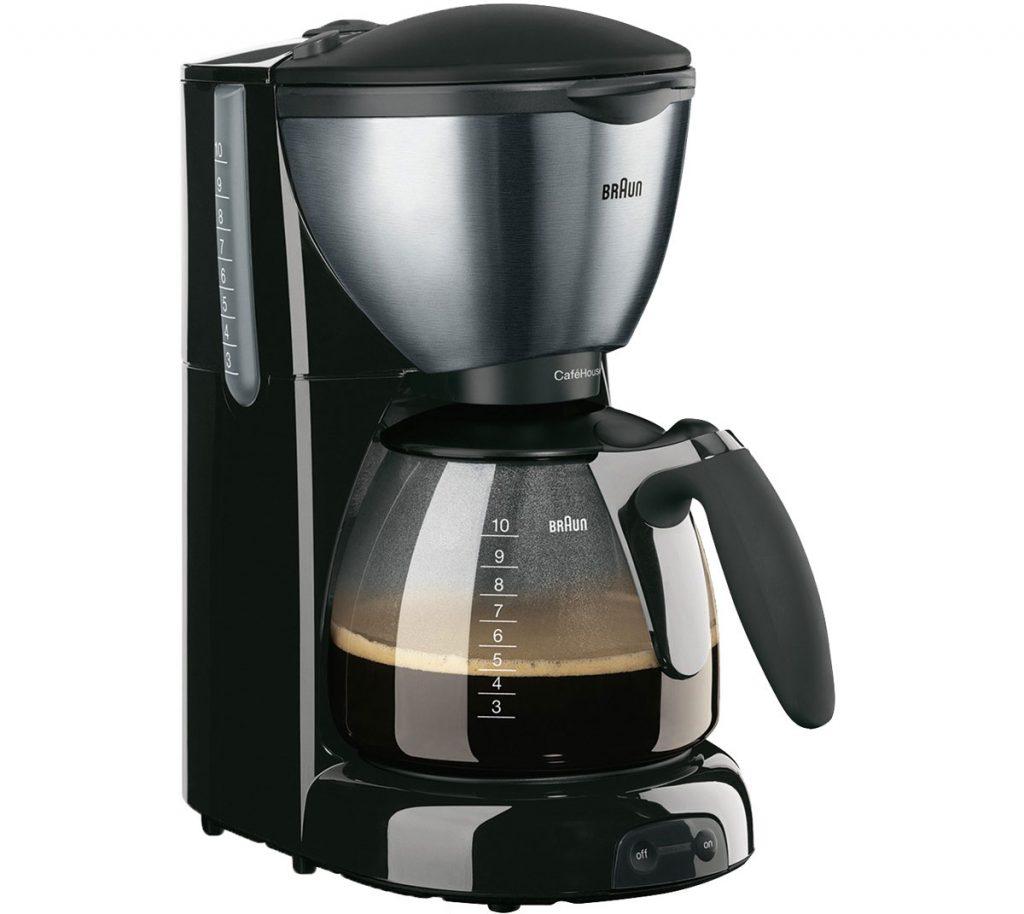 kávovar na filtrovanú kávu Braun