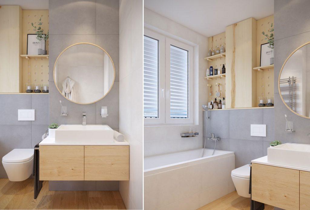 Aj paneláková kúpeľňa môže byť priestranná. A to aj s vaňou