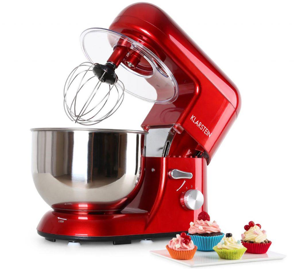 Bella Rossa červený kuchynský robot Klarstein