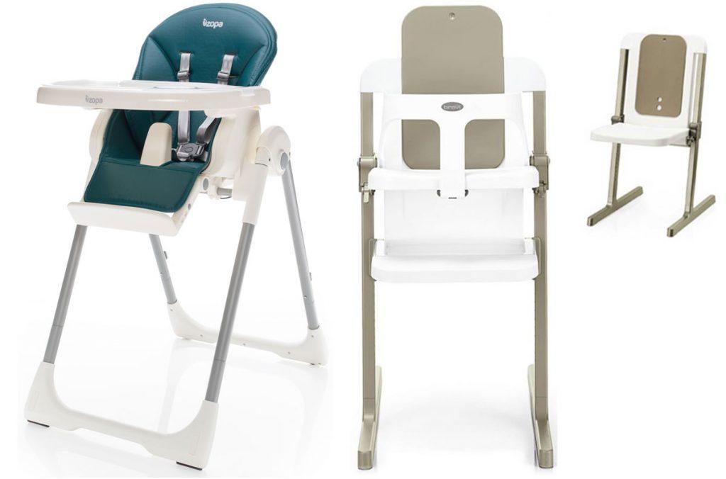 detská modrá plastová stolička a detská plastová stolička rozložiteľná aj na stoličku pre dospelých
