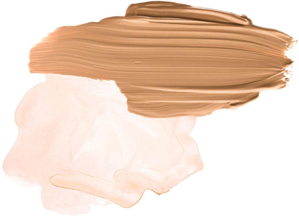 odtieň krémovej a hnedej pre kombinovanie s koňakovou farbou