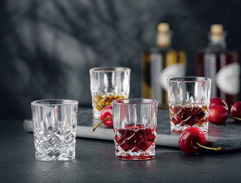 poháre z bavorského krištáľového skla