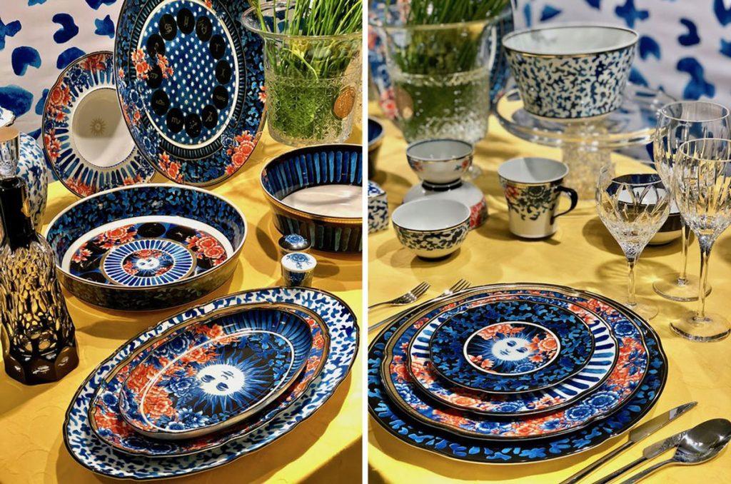 kolekcia riadov Vista Alegre s kvetinovými a zeleninovými ornamentami