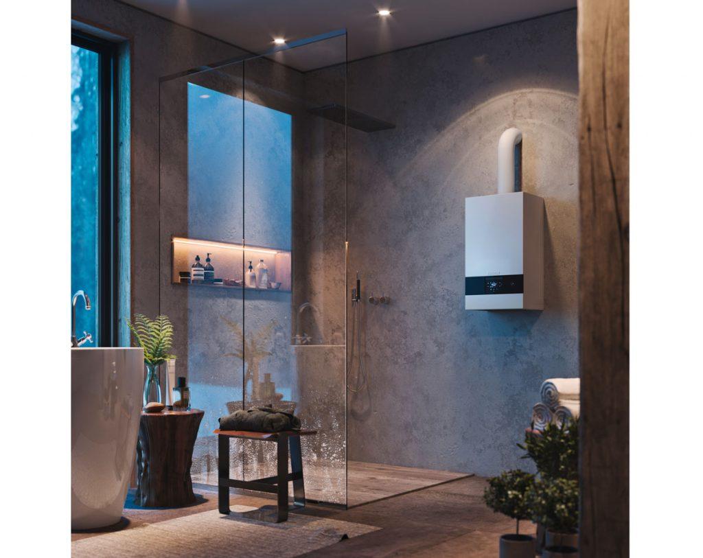 kúpeľňa s kotlom