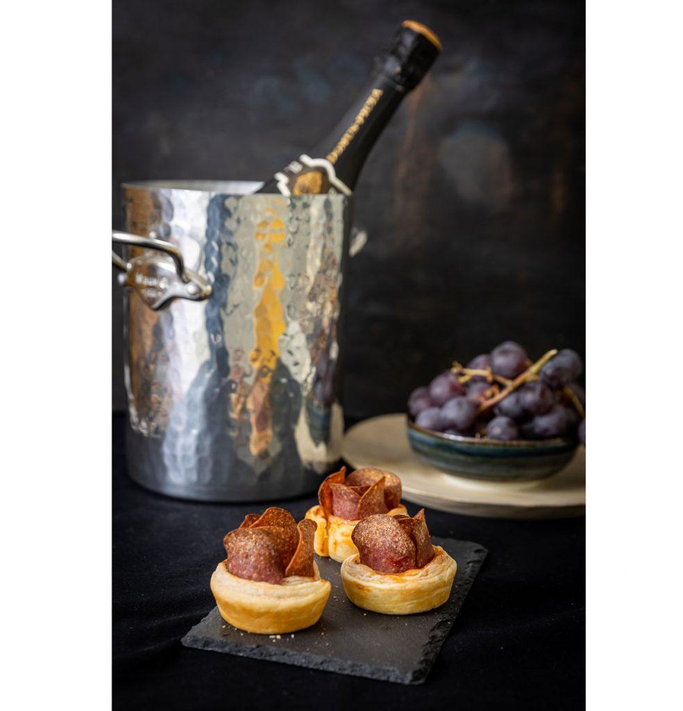 Recept z lístkového cesta: Hrušky zapečené so syrom