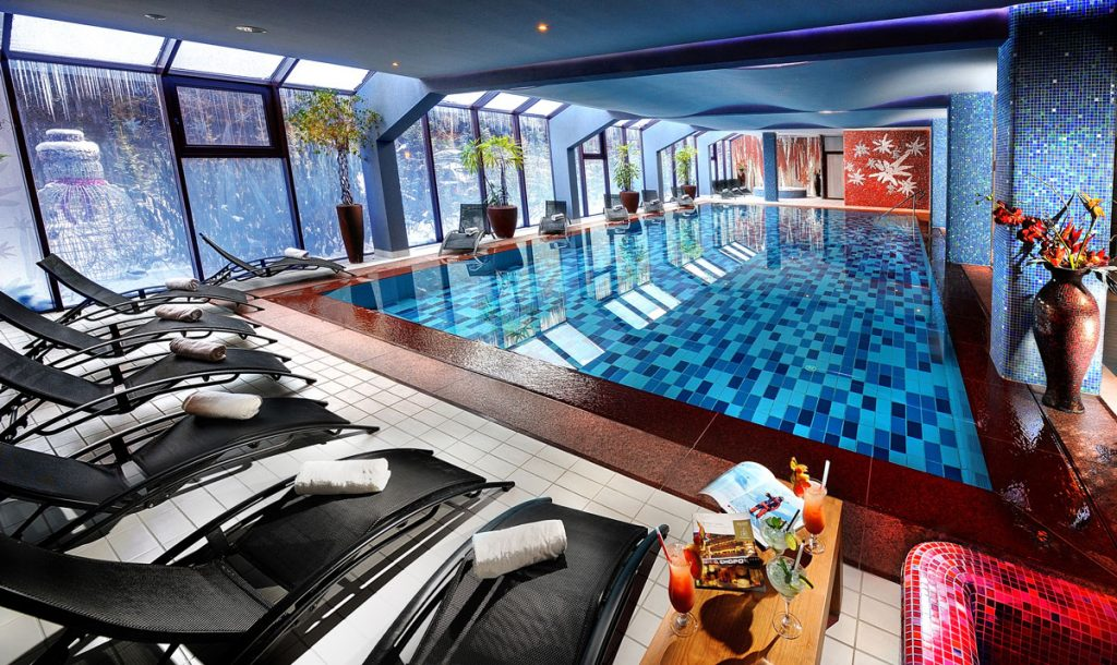 Bazén Plesnivec vo Wellness Hotel Chopok ****