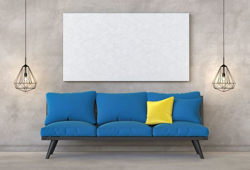 interiérové trendy 2020, interiér zariadený v chladných tónoch