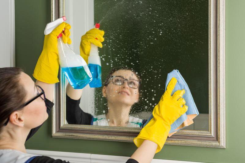 mandarínkovo-mentolový čistič na okná