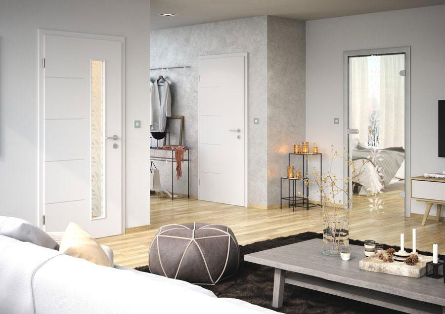 interiérové trendy 2020, interiér s celosklenenými dverami