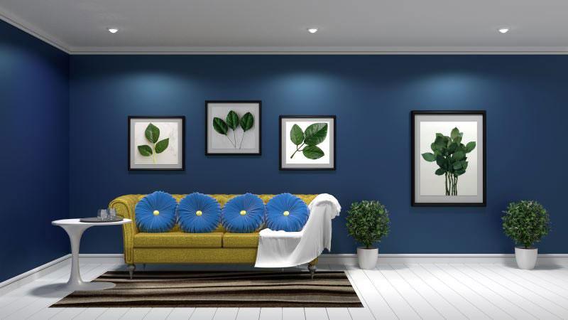 interiérové trendy 2020, interiér zariadený monochromaticky