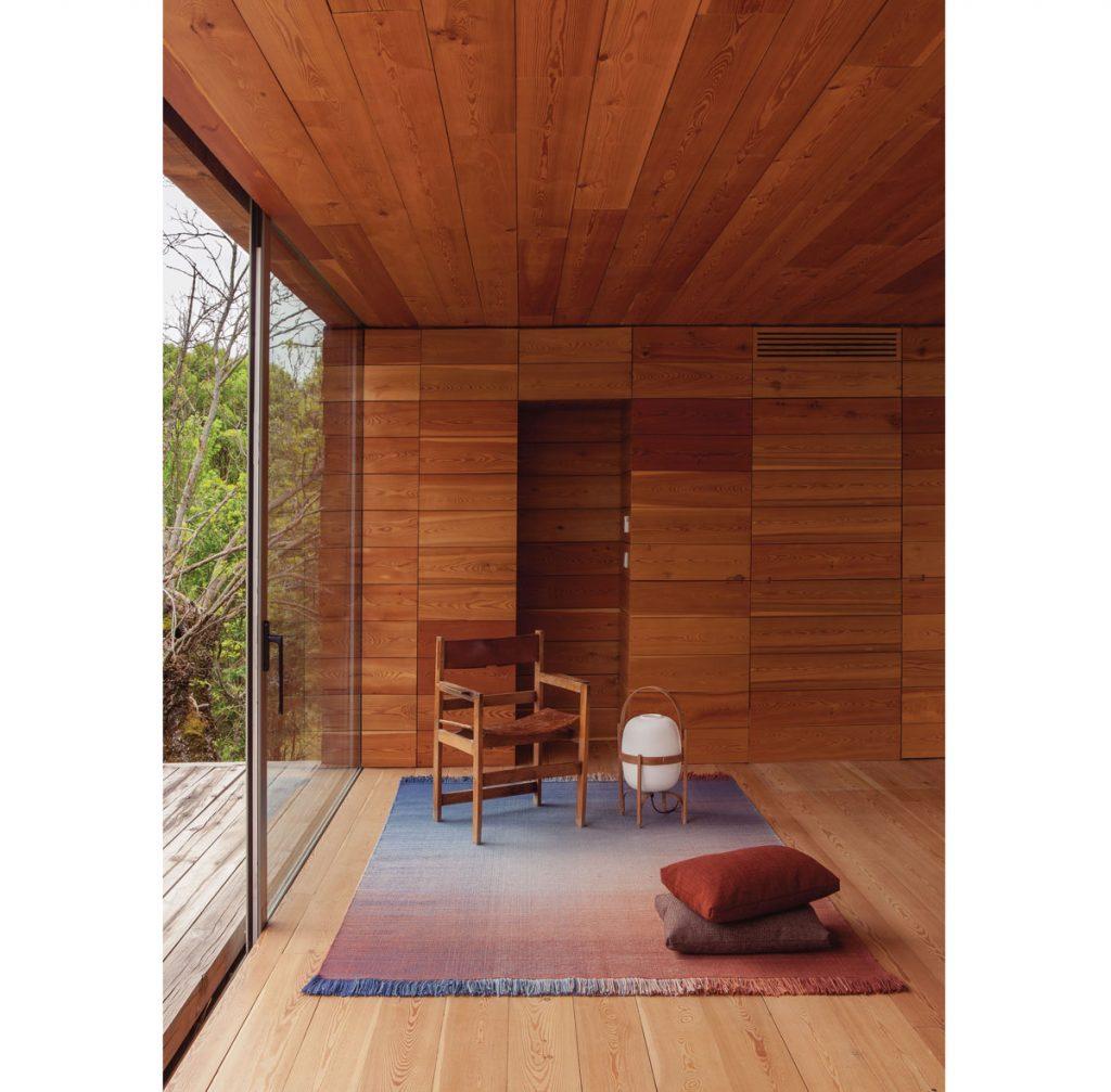 Ako upraviť steny v obývačke: interiér s dreveným obložením stien.
