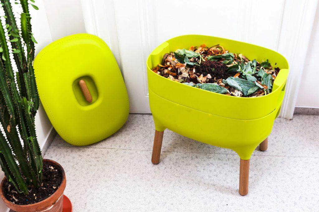 Plánovanie zmien v záhrade: kompostér