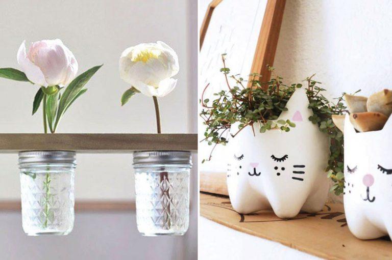 Doplnky a dekorácie do domu, ktoré si ľahko vyrobíte sami